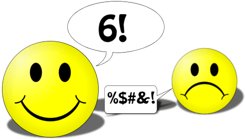 smile faces for the number game puzzle