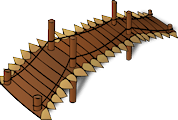 picture of a wooden bridge
